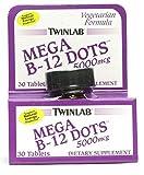 Twinlab B 12 Dots 5000 Mcg 30 Dot