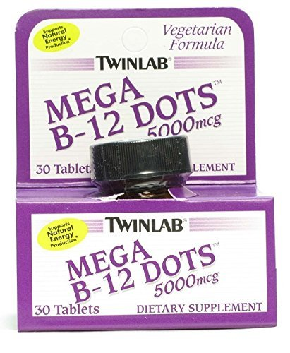 Twinlab B-12 Dots Mega 5000mcg Tb by Twinlab