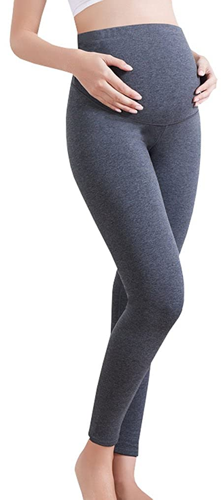 f0e4bba4338c5 Maternity leggings are made from the softest cotton and superior stretchy  spandex to make sure you and your baby feel comfortable.