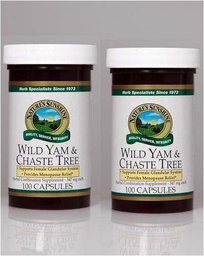 Naturessunshine Wild Yam & Авраамово дерево Травяные Сочетание питательных 100 капсулы (комплект из 2)