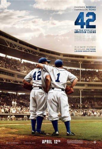 Amazon.com: 42 (2013) 27 x 40 Movie Poster Harrison Ford, Alan Tudyk,  Christopher Meloni, Lucas Black, John C. McGinley, Style I: Prints: Posters  & Prints