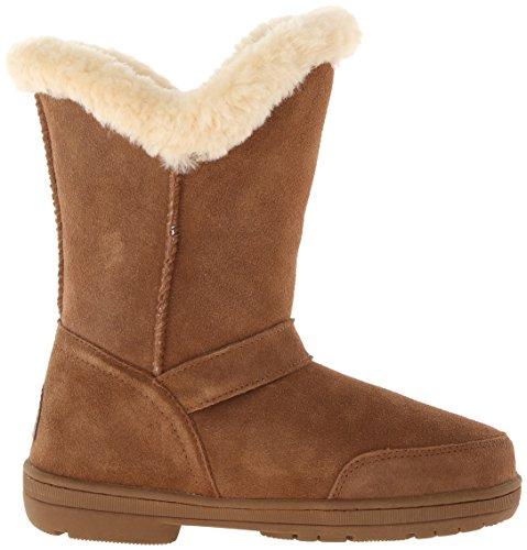 Bearpaw Femmes Madeline Mi-mollet En Daim Boot Hickory