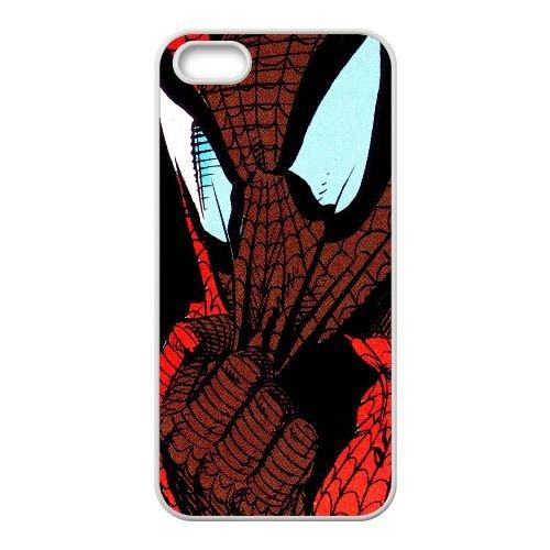 Pictures Of Spiderman 003 coque iPhone 4 4S Housse Blanc téléphone portable couverture de cas coque EEEXLKNBC18895