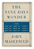 The Nine Days Wonder (The Operation Dynamo) by John Masefield front cover