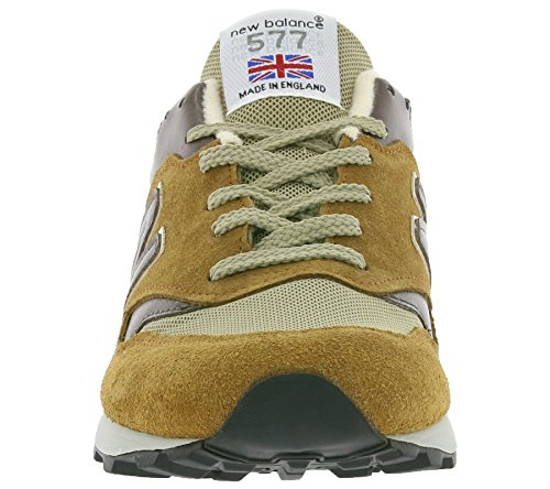 Balance in Tan Pack' 577 pour UK New réel M577BDB Marron sneaker Tender Made 'English hommes Db 4BxFdxHtqw