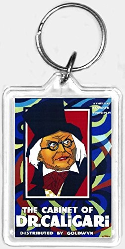 - The Cabinet of Dr. Caligari Movie Poster Keychain, the Same Picture on Both Sides. …