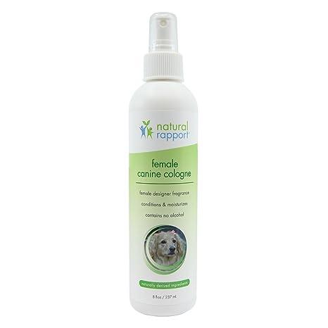 Natural Rapport - Spray de Colonia para Perro, 3 en 1, desodorizador Natural para