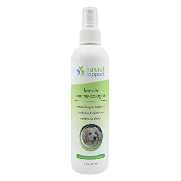 Natural Rapport - Spray de Colonia para Perro, 3 en 1, desodorizador Natural para