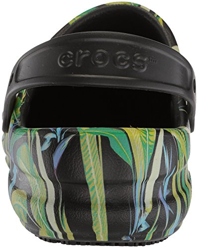 parrot Crocs black Bistro Clog Sabots Noir Mixte Adulte Green Graphic 8rSq8