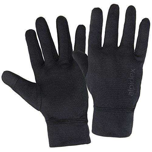 ALPIDEX Laufhandschuhe Leichte Sporthandschuhe Herren Damen Touchscreen Funktion Running Handschuhe