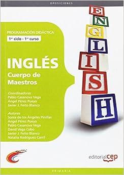 Descargar En Elitetorrent Cuerpo De Maestros. Inglés. Programación Didáctica.1er Ciclo Documento PDF