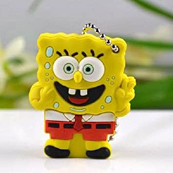 SpongeBob SquarePants 4GB USB Flash Drive YELLOW