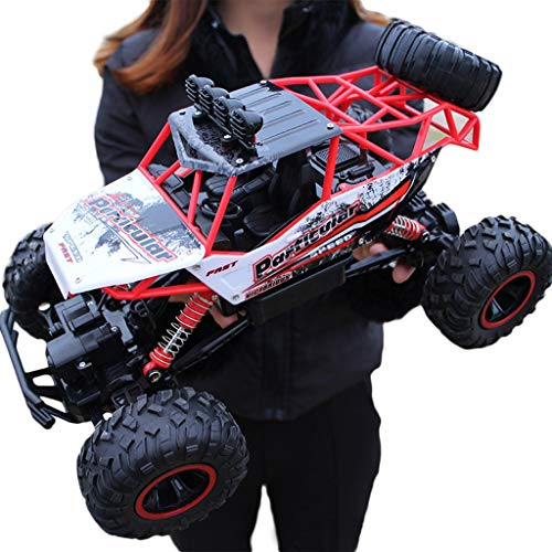 (Remote control car Electric car Oversized Charging Toy Car Drift Off-Road Vehicle Four-Wheel Drive Climbing Big Bike Boy Children (Color : D))