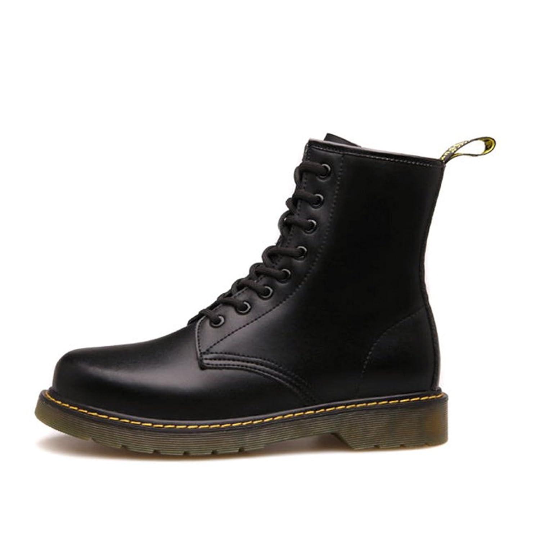Herren freizeitschuhe kleid bergsteigen herbst outdoor oxford schuhe stiefel rutschen schwarzbraun C Fußlänge=38.5EU
