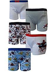 Marvel Comics Amazing Spiderman 5 Pack Boys Boxer Briefs for boys (8)