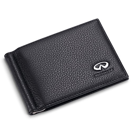 Infiniti Bifold Money Clip Wallet with 6 Credit Card Slots - Genuine (Q50 Clips)