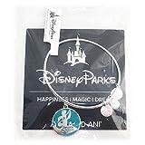 Disney Parks Alex and Ani Princess Jasmine 'Unlock The Magic' ALADDIN Bangle Bracelet (Silver)