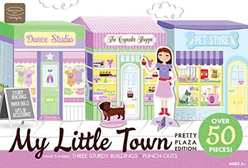 Bendon Kathy Ireland My Little Town Pretty Plaza Dollhouse (50 - Town Plaza