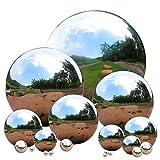 6 stainless steel gazing ball - Hineway 2.0mm 304 Stainless Steel Gazing Ball Gazing Globe Mirror Ball Seamless Mirror Balls Sphere Hollow for Outdoor Park Garden (6'')