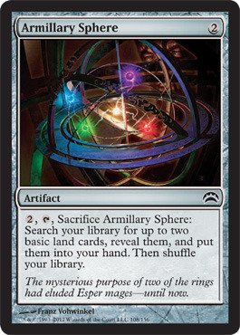Magic: the Gathering - Armillary Sphere (108) - Planechase 2012