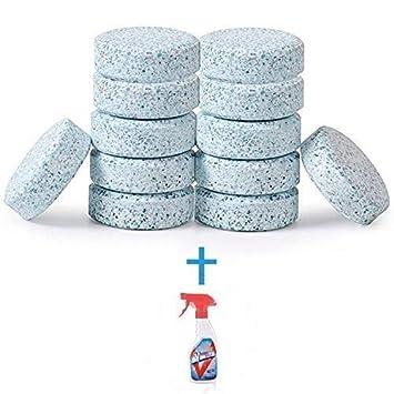 Limpiador de tableta multifuncional que hace espuma, limpiador concentrado, limpiador de espray que hace