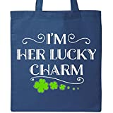 Inktastic - Im Her Lucky Charm-St. Patricks Day couple Tote Bag Royal Blue 2eee1