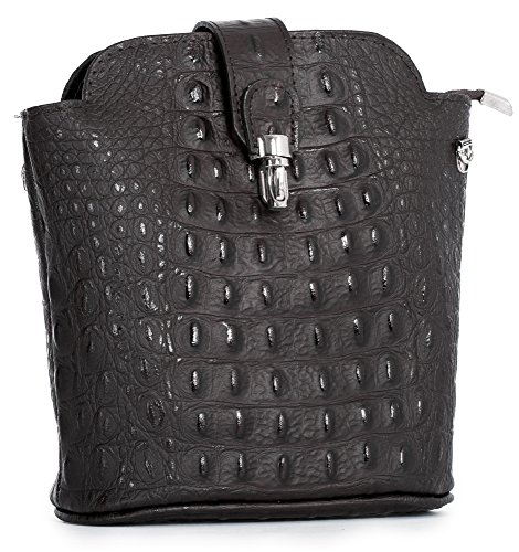 Shop Coffee tracolla Handbag Borsa a Big Croc donna One 5FRBxIw8