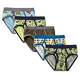 CNBABY Boys Dinosaur Underwear Toddler Kids Cotton Briefs 5 of Pack