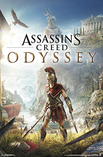 """Price comparison product image Trends International Assassin's Creed: Odyssey-Key Art Clip Bundle Wall Poster 22.375"""" x 34"""" Multi"""
