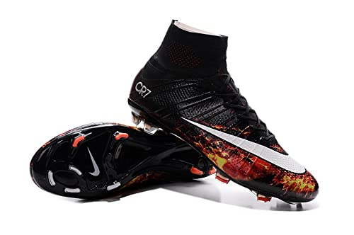 Botines de fútbol Mercurial Superfly CR7 FG para hombre, de WhoryHert, color negro, talla 41 EU: Amazon.es: Zapatos y complementos