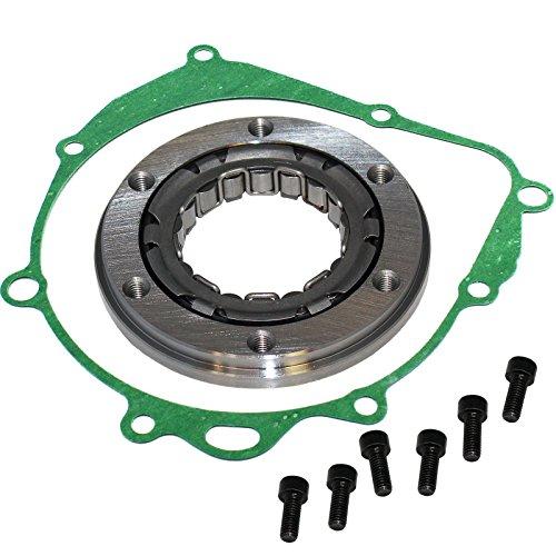 Caltric CLUTCH SPRAG ONE WAY BEARING & GASKET FOR SUZUKI QUADSPORT 400 LTZ400 LT-Z400 2003-2009 ()