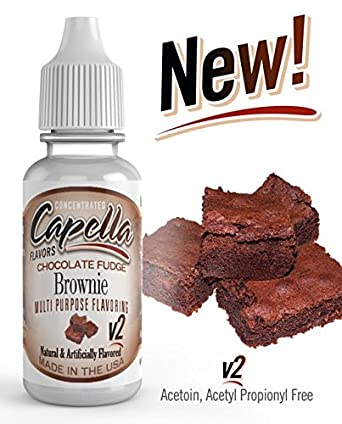 Capella Aroma 13ml DIY Chocolate Fudge Brownie V2: Amazon.es: Alimentación y bebidas