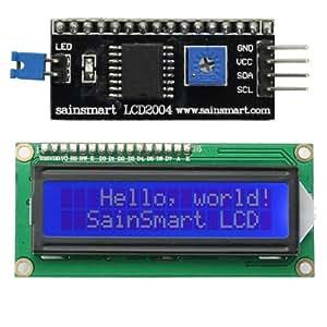 SainSmart IIC/I2C/TWI - Módulo de pantalla LCD para Arduino