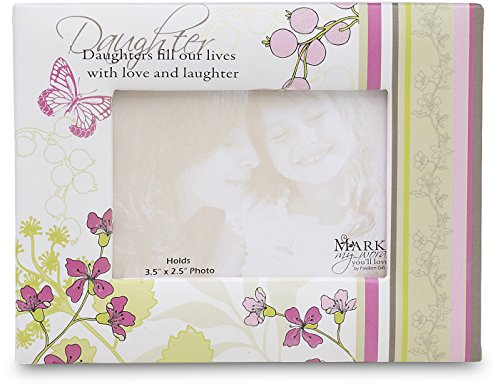 Pavilion Gift Mark My Words Magnetic Photo Frame with Dau...