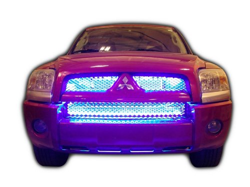 Plasmaglow 13000 ThunderGrille Blue LED Grille Kit
