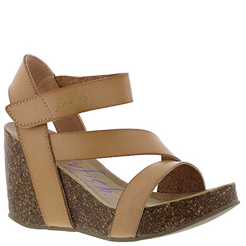 Sandal Blowfish Hapuku Wedge Dyecut Nude Women's Pu PxSq1wU8