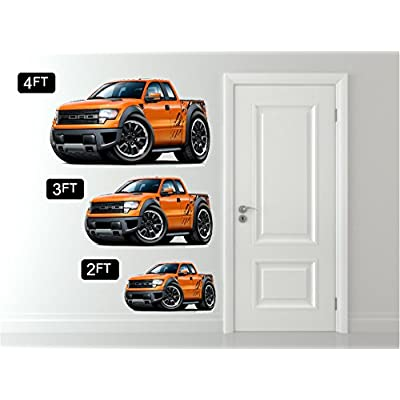 1980-82 Corvette Wall Decal Vintage 3D Car Movable Stickers Vinyl Wall Stickers for Kids Room: Baby