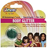 Glimmer Body Art Green Body Glitter Party Accessory