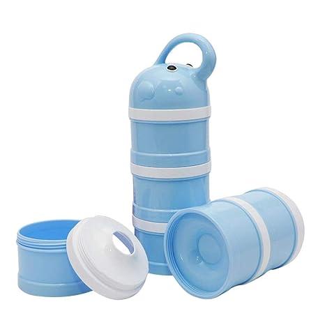 starter Dispensador de Leche en Polvo, Caja de Embalaje de Leche en Polvo para bebé