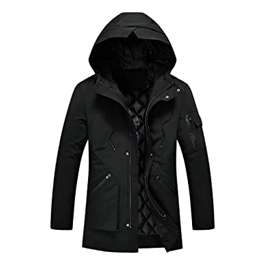 qualité supérieure toujours populaire faire les courses pour OSYARD Manteau Hiver Homme Grande Taille Chaud Veste avec ...