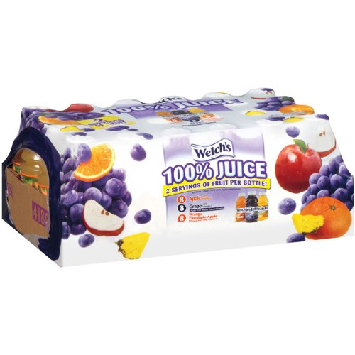 - Welch's 100% Juice Variety Pack - 10 oz. bottles - 24 ct.