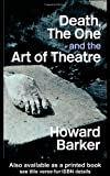 Death, The One and the Art of Theatre, Howard Barker, 0415349877