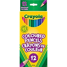 Crayola Colored Pencils, Set Of 12 Colors