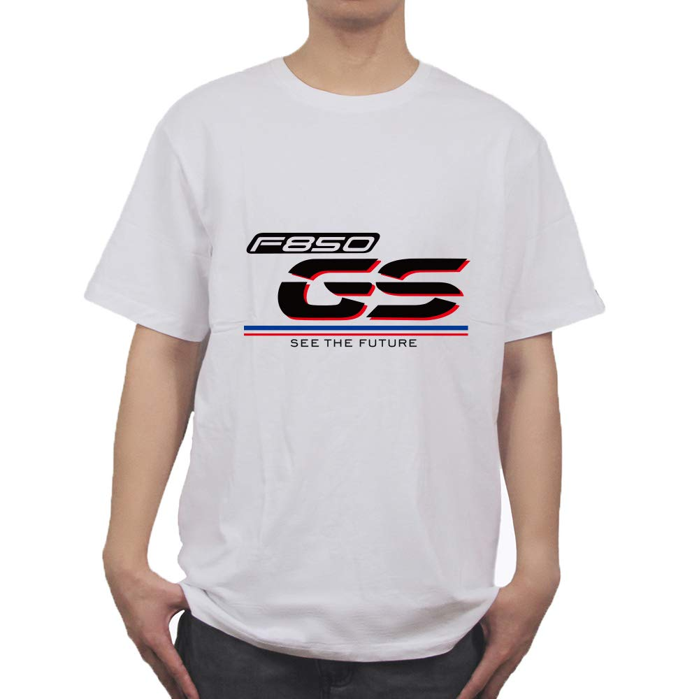 PRO-KODASKIN Men Cotton Round Neck Casual Printing Short Sleeve T Shirt for F850 GS F850GS