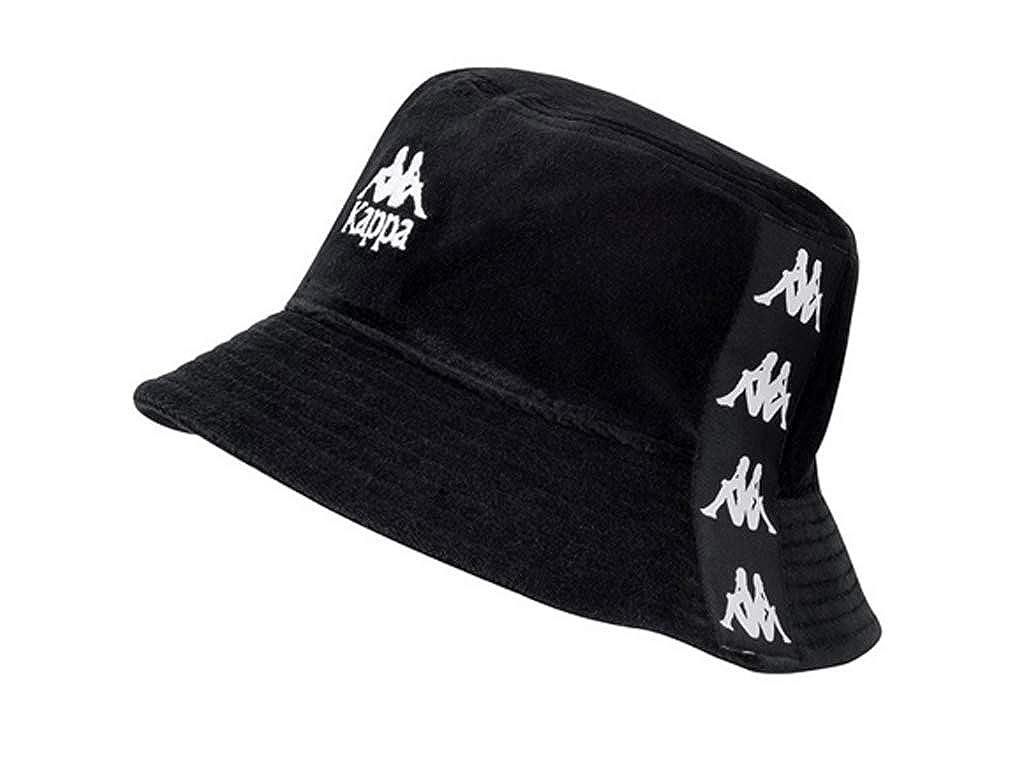 Kappa -  Cappello Panama - Uomo Nero nero bianco Taglia unica