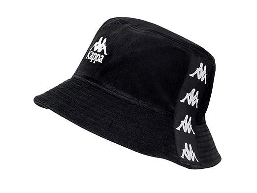 Kappa , Cappello Panama , Uomo Nero nero bianco Taglia unica