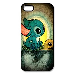 Mystic Zone Lilo & Stitch Case for iPhone 5 Cover Famous Cartoon Fits Case WSQ1146