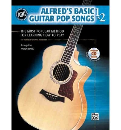 - Alfred's Basic Guitar, Bk 1 & 2: Pop Songs, Book & CD (Alfred's Basic Guitar Library) (Paperback) - Common