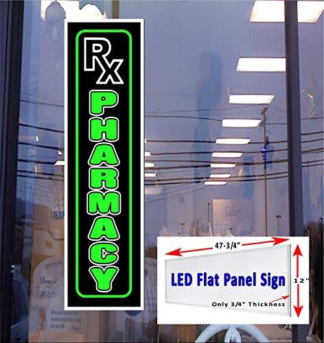 LED light Box Sign Rx Pharmacy - 48