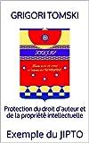 Protection du droit d'auteur et de la propriété intellectuelle: Exemple du JIPTO (French Edition)